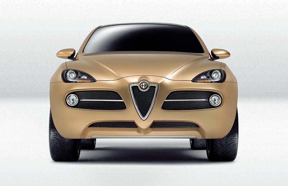 2003 Alfa Romeo Kamal SUV Concept Front