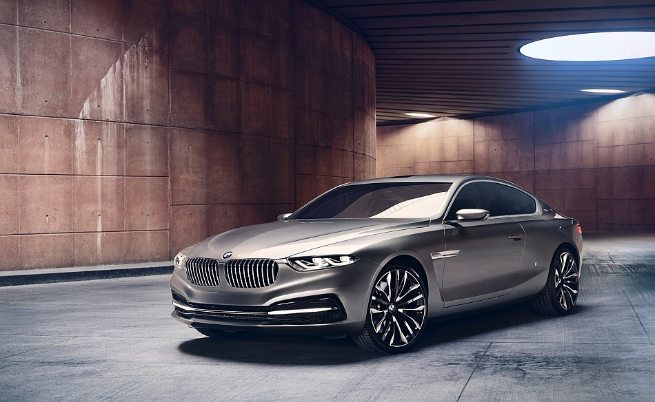 2013 BMW Pininfarina Gran Lusso Coupe Front 3-4 Left