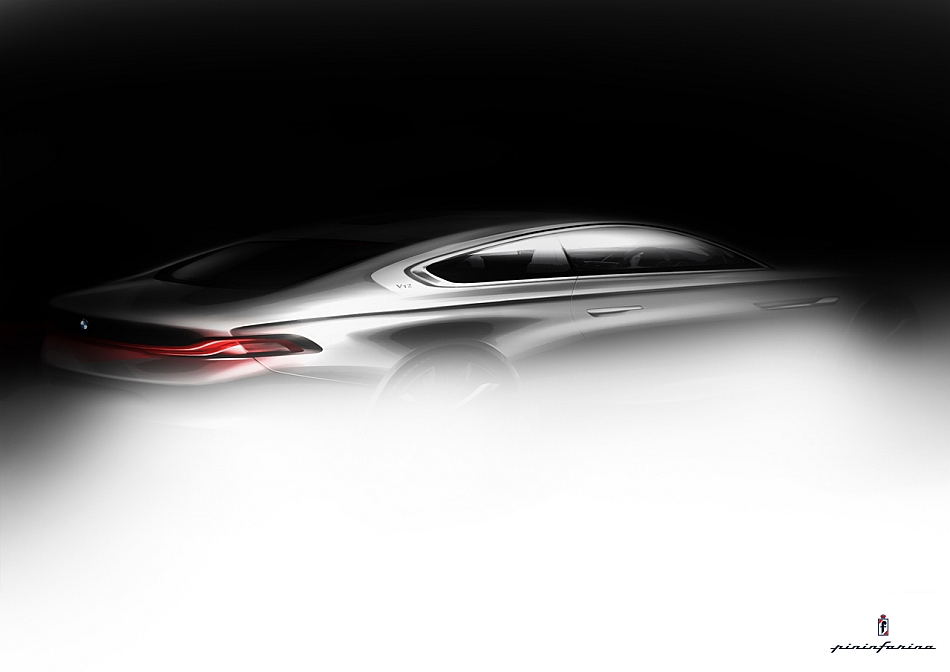 2013 BMW Pininfarina Gran Lusso Coupe Teaser