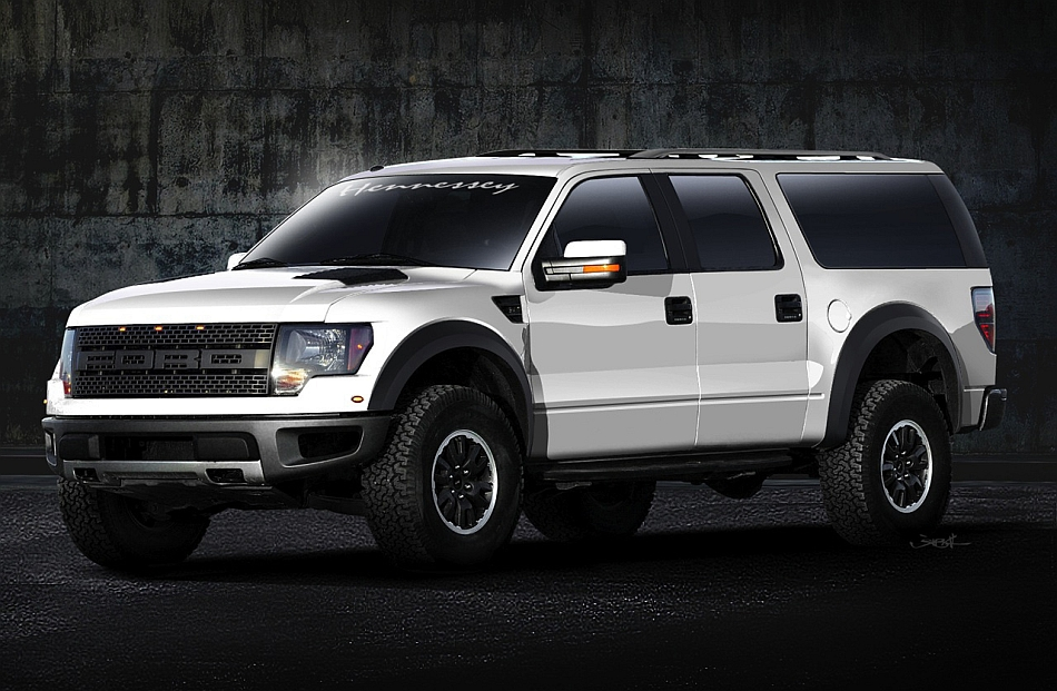 2013 Hennessey Performance Ford VelociRaptor SUV