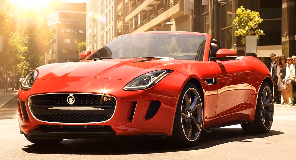 2013 Jaguar F-Type TV Ad Spot
