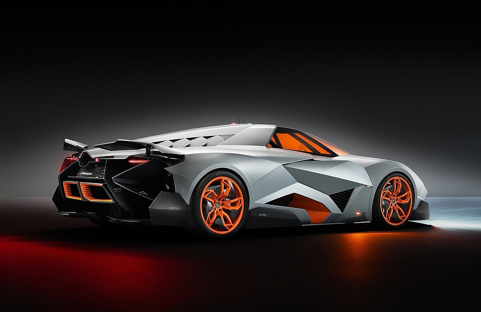 2013 Lamborghini Egoista Concept Rear 3-4 Right