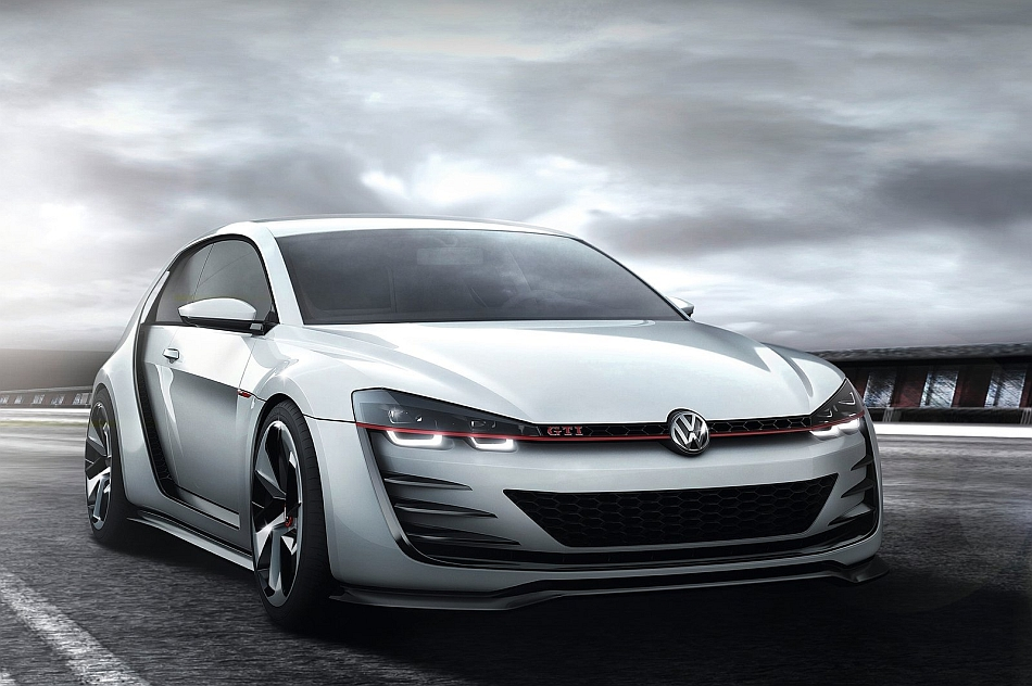 2013 Volkswagen GTI Design Vision Concept