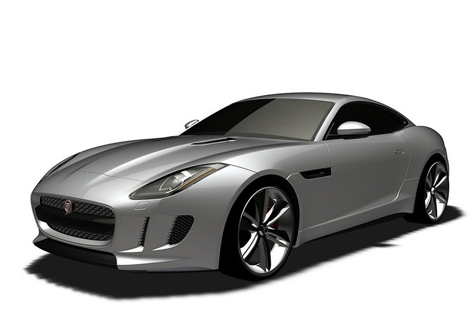 Jaguar F-Type Coupe Photo Rendering