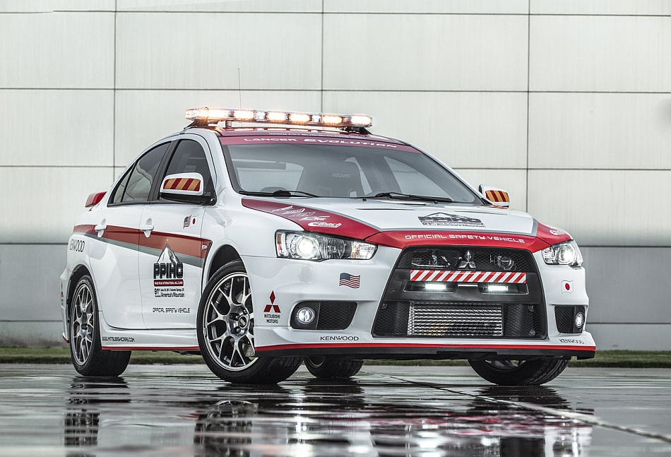2013 Pikes Peak Safety Cars - Mitsubishi Lancer Evolution X