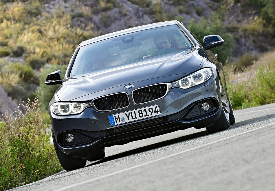 2014 BMW 4-Series Coupe Front Close Up