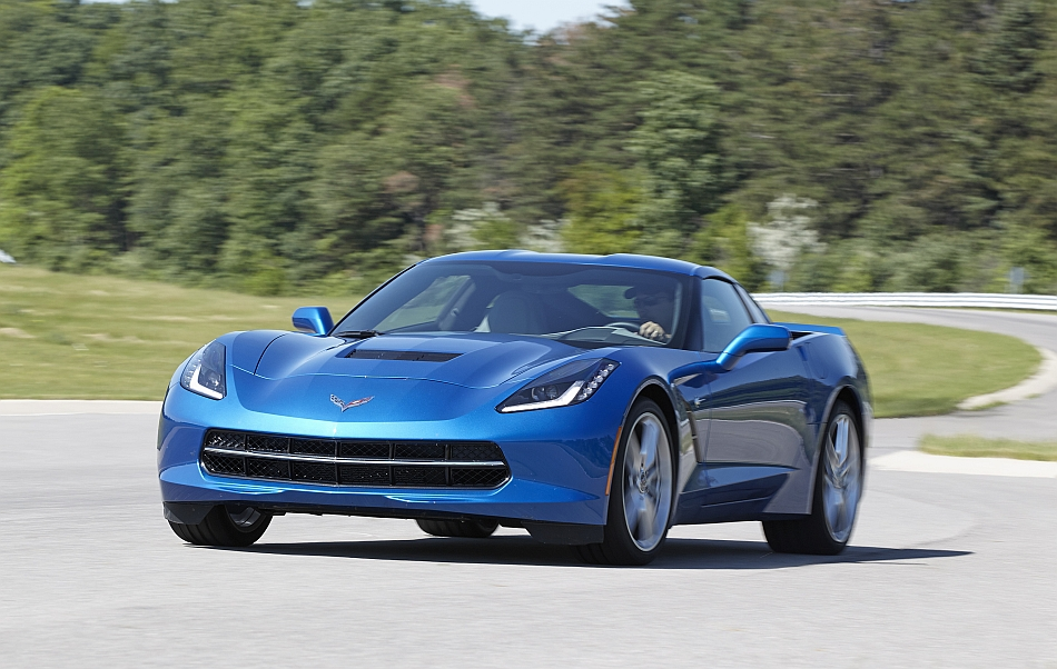 2014 Chevrolet Corvette Stingray Factory Performance Testing Front Left 3-4 Cruising
