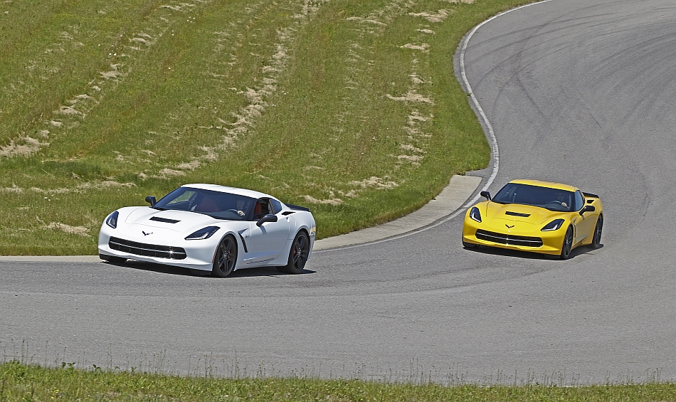 2014 Chevrolet Corvette Stingray Factory Performance Testing Virginia International Raceway