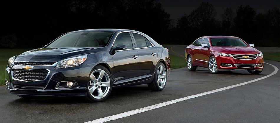 2014 Chevrolet Malibu and Impala