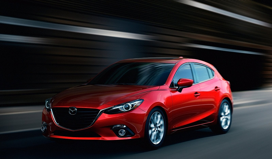 2014 Mazda3 Front 3-4 Left Cruising