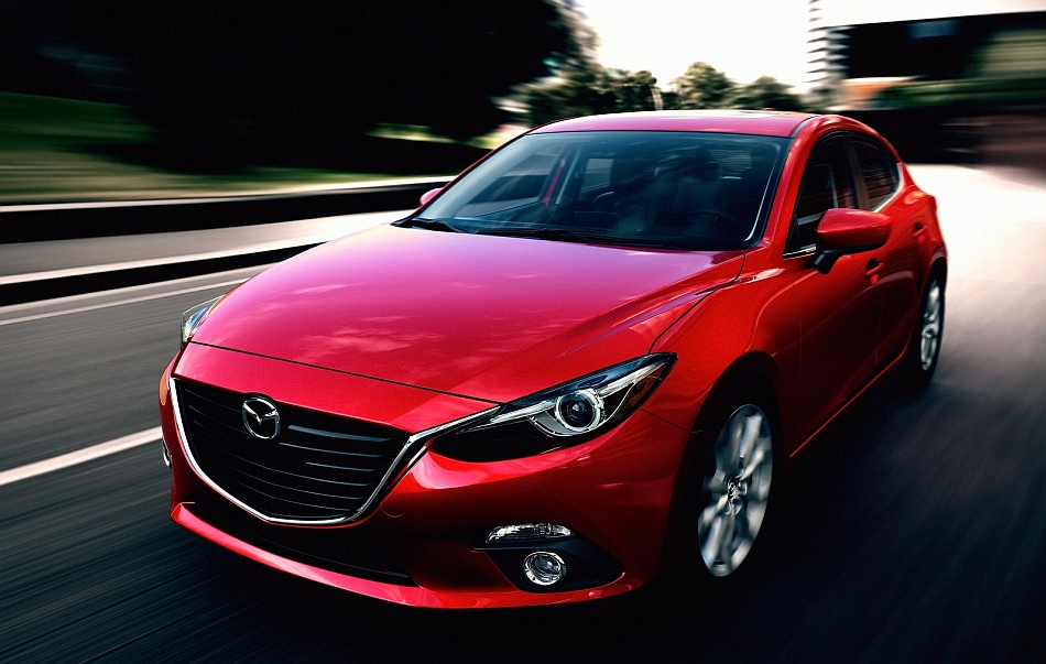 2014 Mazda3 In Motion Close Up