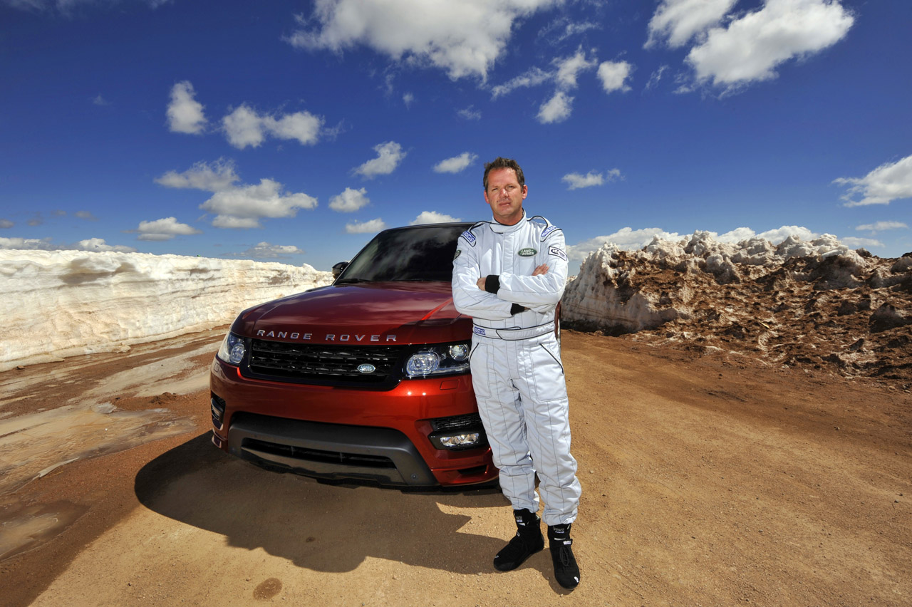 2014 Range Rover Sport at Pikes Peak with Paul Dallenbach