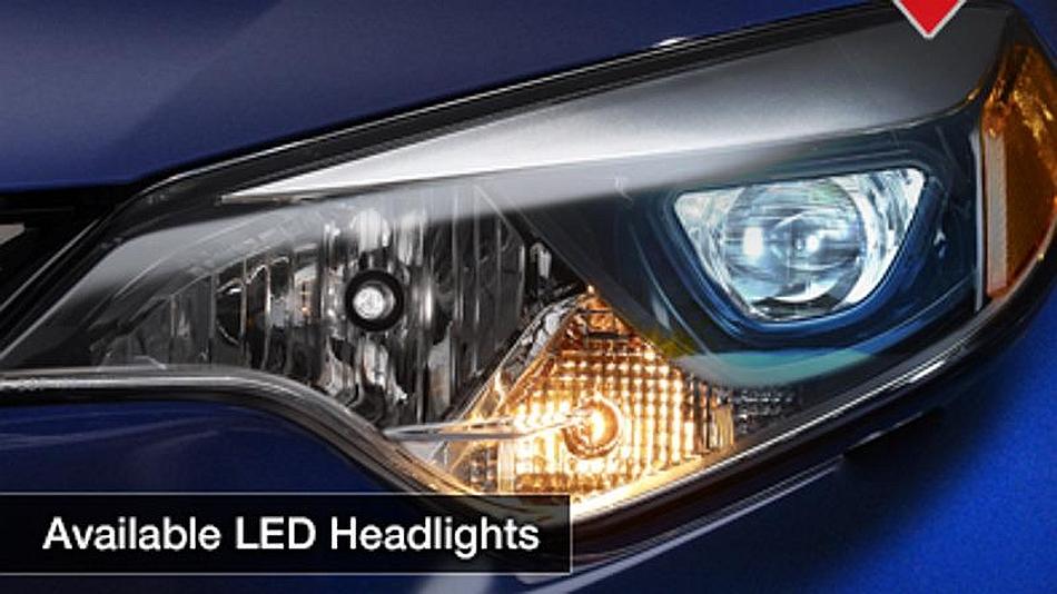 2014 Toyota Corolla Teaser Headlight