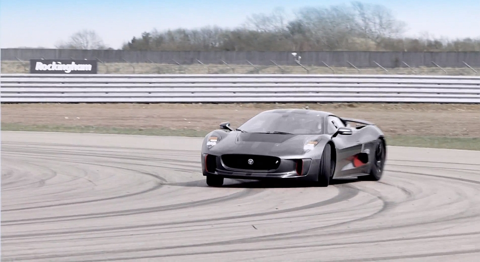 Jaguar C-X75 Concept Video