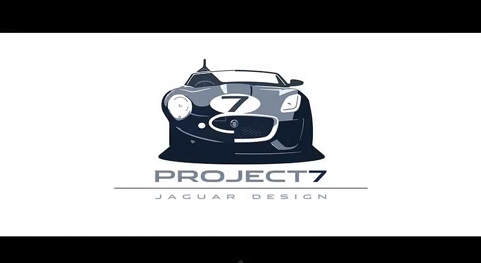 2013 Jaguar Project 7 Concept Teaser Goodwood