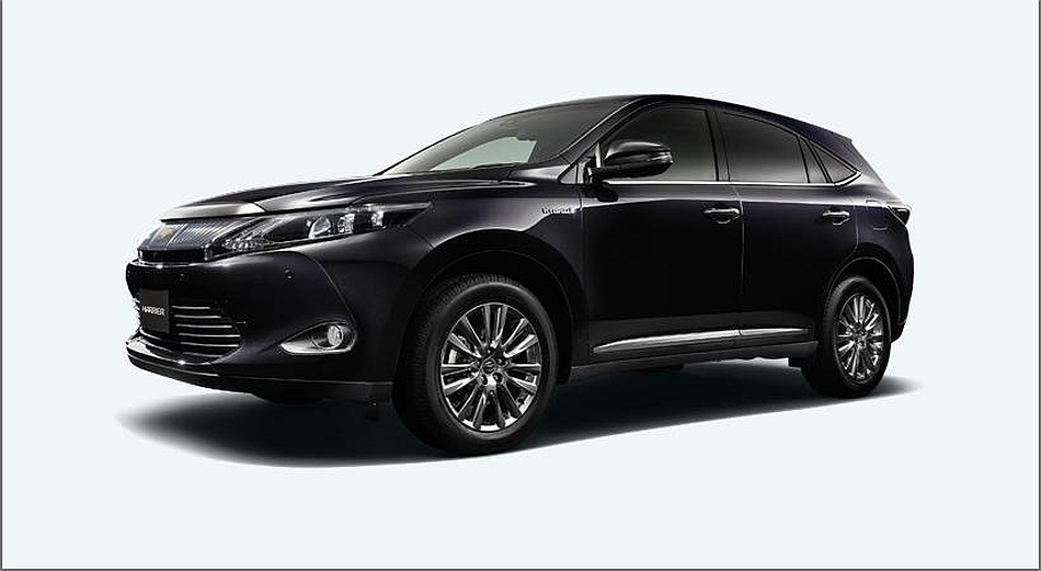 2014 Toyota Harrier Front 7-8 Left