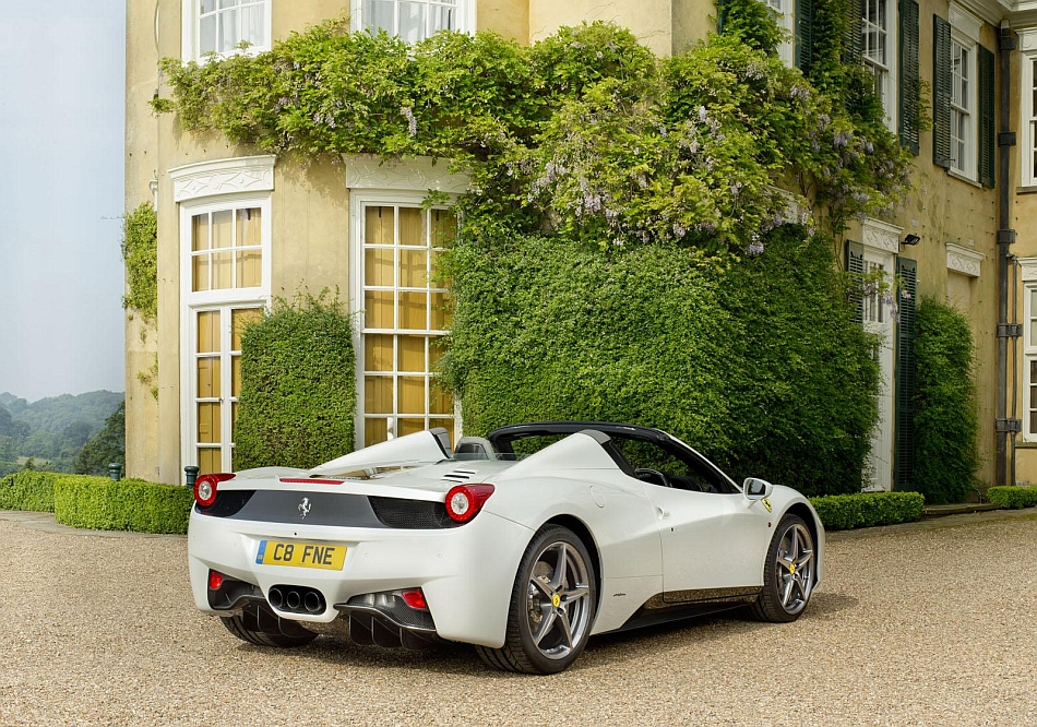 Tailored Ferrari 458 Spider for Goodwood 2013