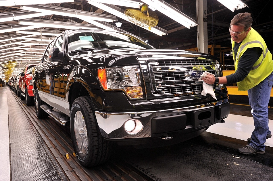 2013 Ford F150 Assembly