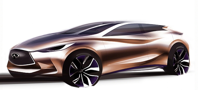 2013 Infiniti Q30 Concept