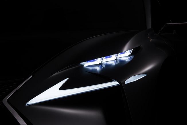 2013 Lexus Concept Teaser Frankfurt