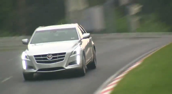 2014 Cadillac CTS Vsport Nurburgring Video