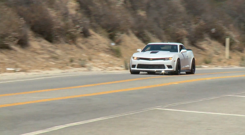 2014 Chevrolet Camaro Z28 driven by Jay Leno