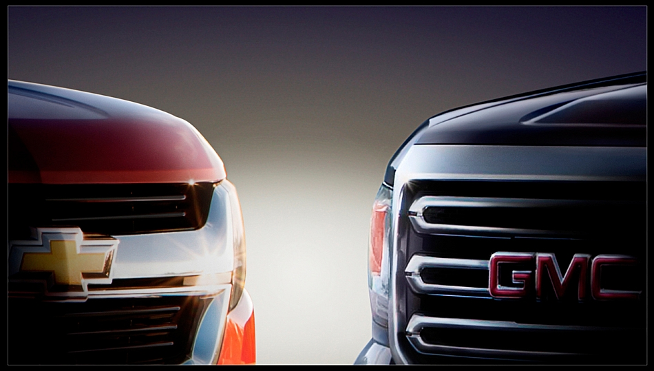 2014 Chevrolet Colorado - GMC Canyon Teaser