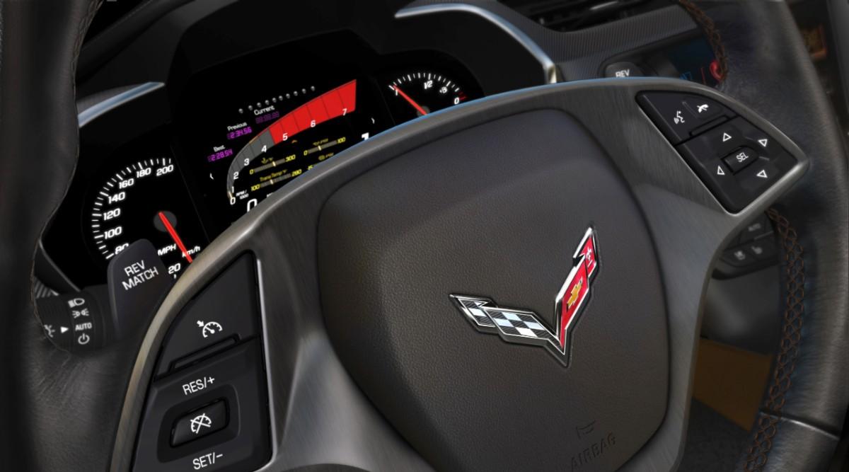 2014 Chevrolet Corvette Stingray Gauge Cluster