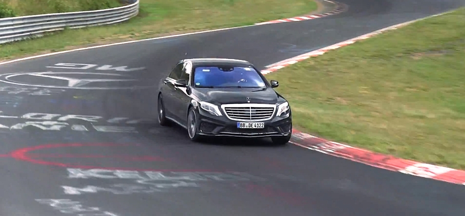 2014 Mercedes-Benz S65 AMG Test Mule