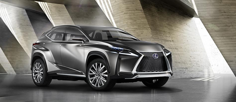 2013 Lexus LF-NX Concept