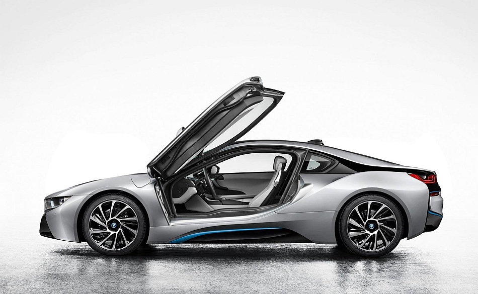 2014 BMW i8 Teaser Left