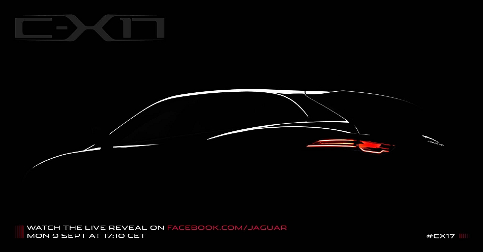 Jaguar C-X17 Teaser Preview