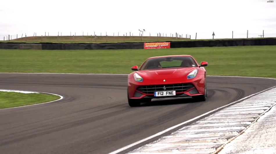 2013 Ferrari F12 and Chris Harris