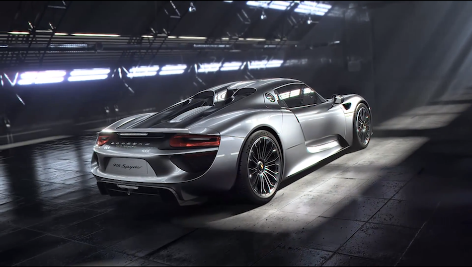 2014 Porsche 918 Spyder Engine Video