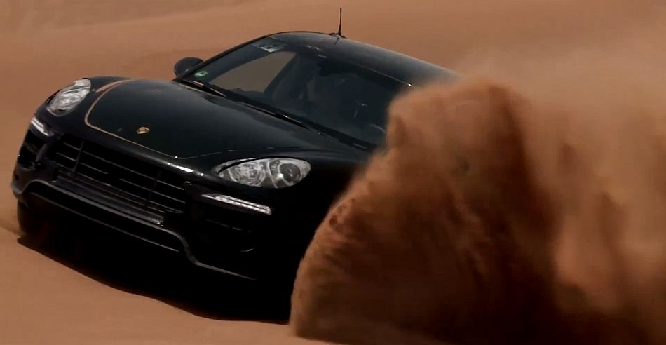 2014 Porsche Macan teased Video