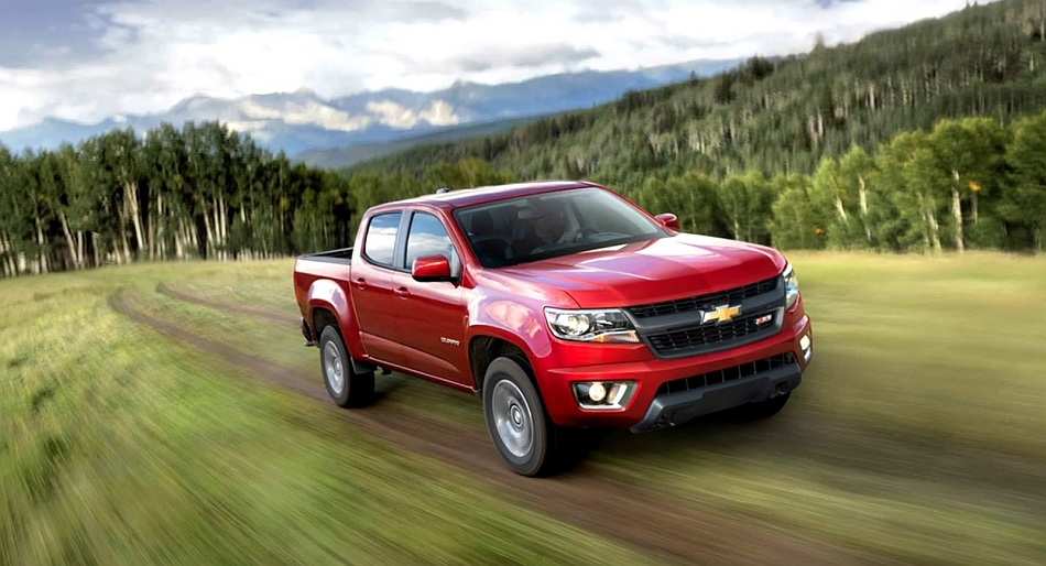 2015 Chevrolet Colorado Photo Leak