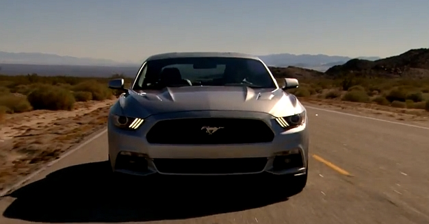 2015 Ford Mustang on Route 66