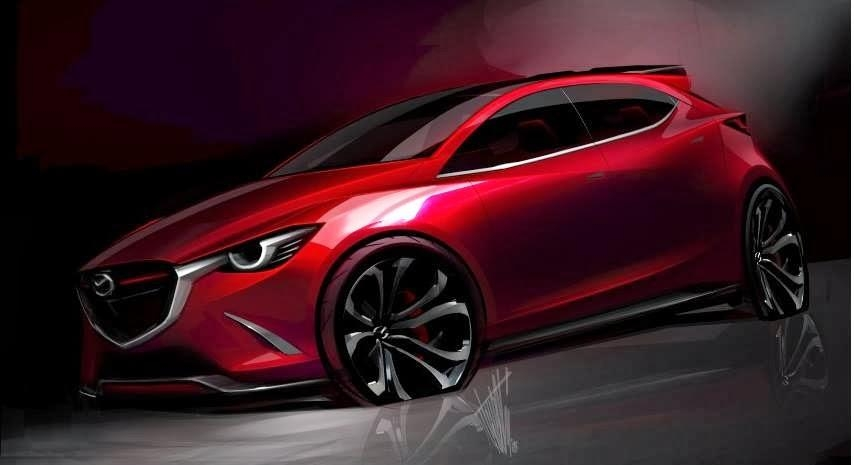 Mazda Hazumi Concept Teased