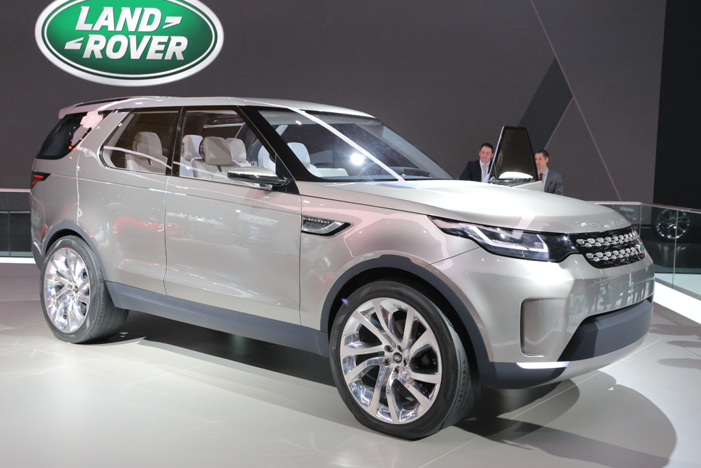 2015 Land Rover Discovery Vision Concept