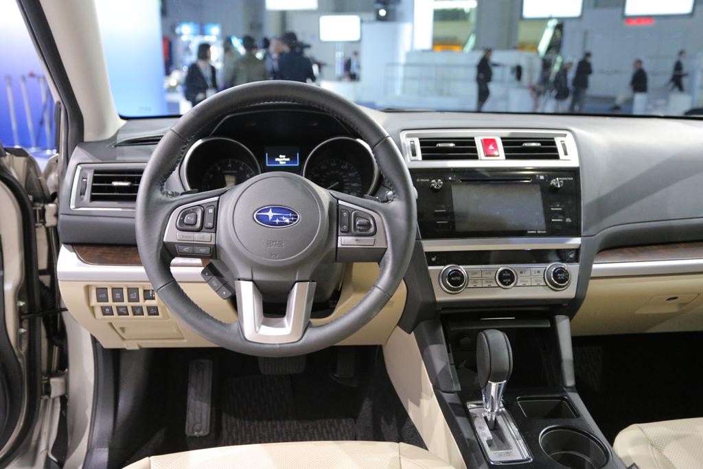 2015 Subaru Outback 3.6R interior
