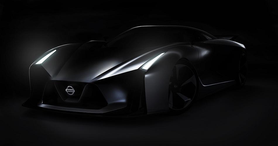 Nissan Vision Gran Turismo Concept Teaser