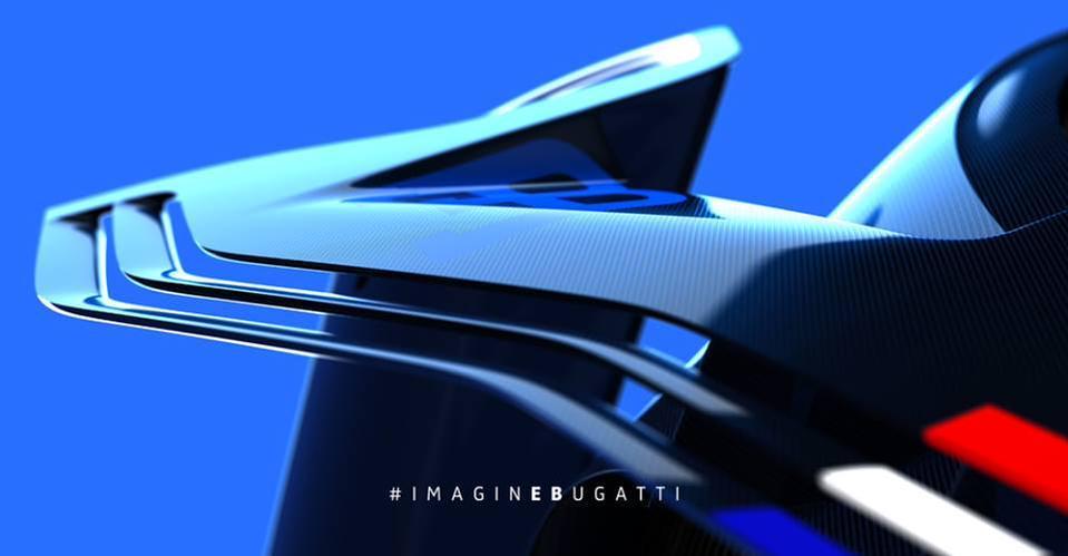 2015 Bugatti Vision Gran Turismo Concept Teasers