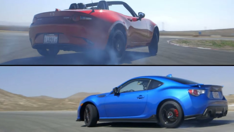The 2016 Mazda Miata Or Subaru Brz Motortrend Finds Out