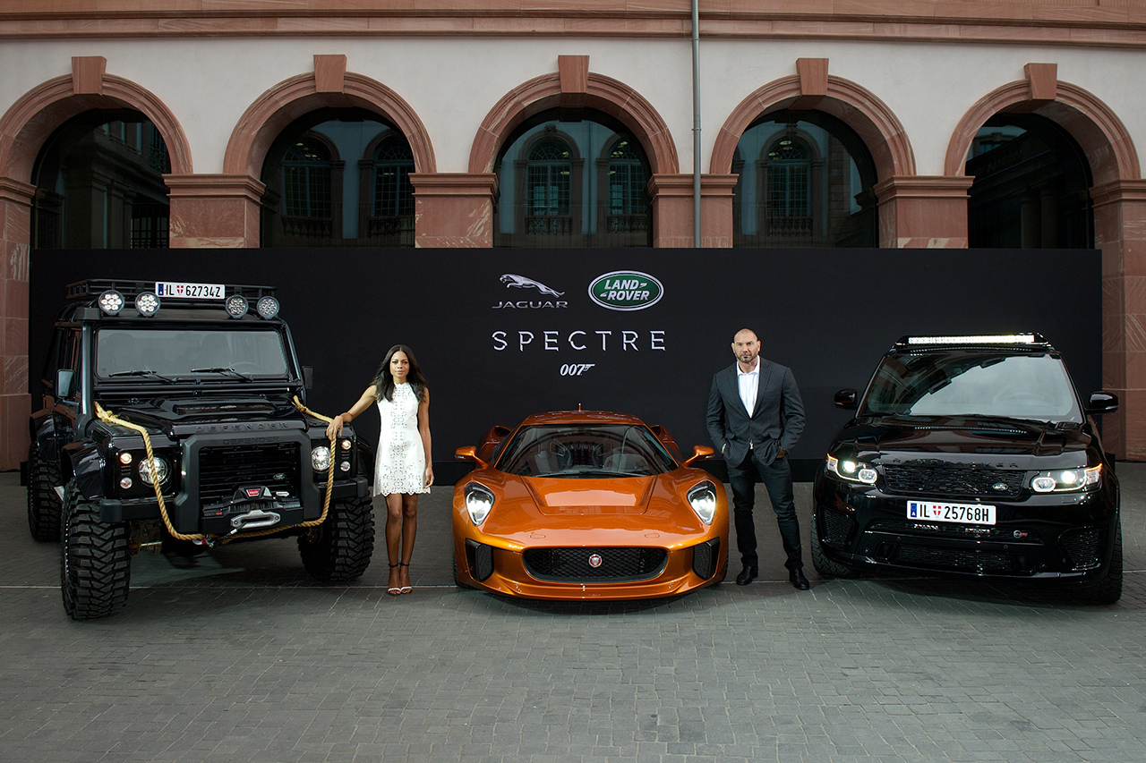 2015 Frankfurt - IAA Jaguar Land Rover Reveal 007 Spectre Star Cars