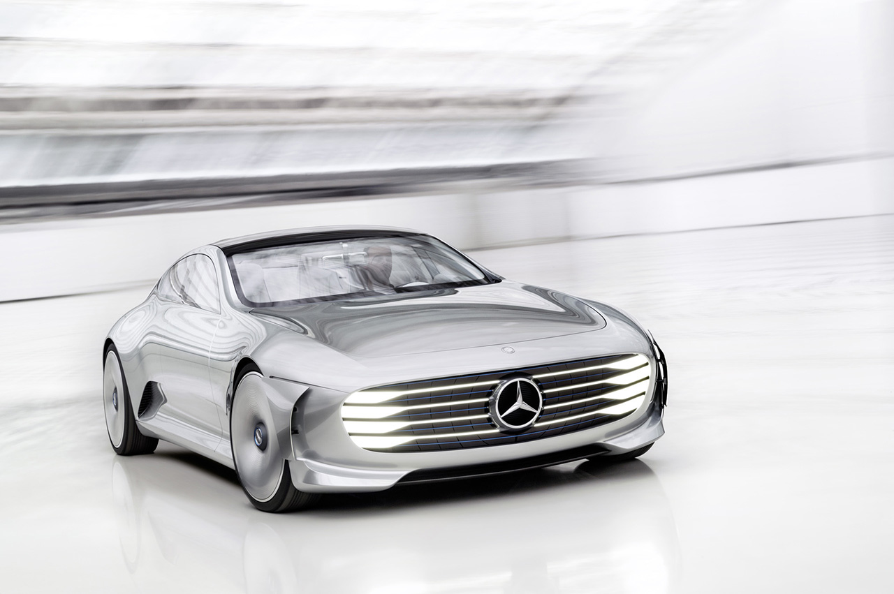 2015 Mercedes-Benz Intelligent Aerodynamic Automobile Concept