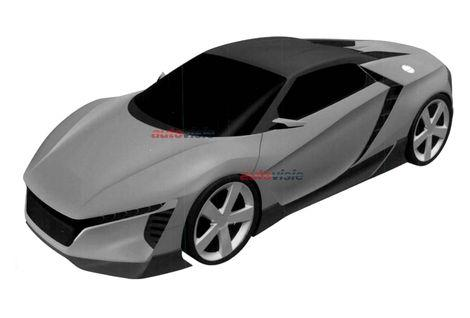 2015 Baby Acura NSX Renderings - AutoVisie
