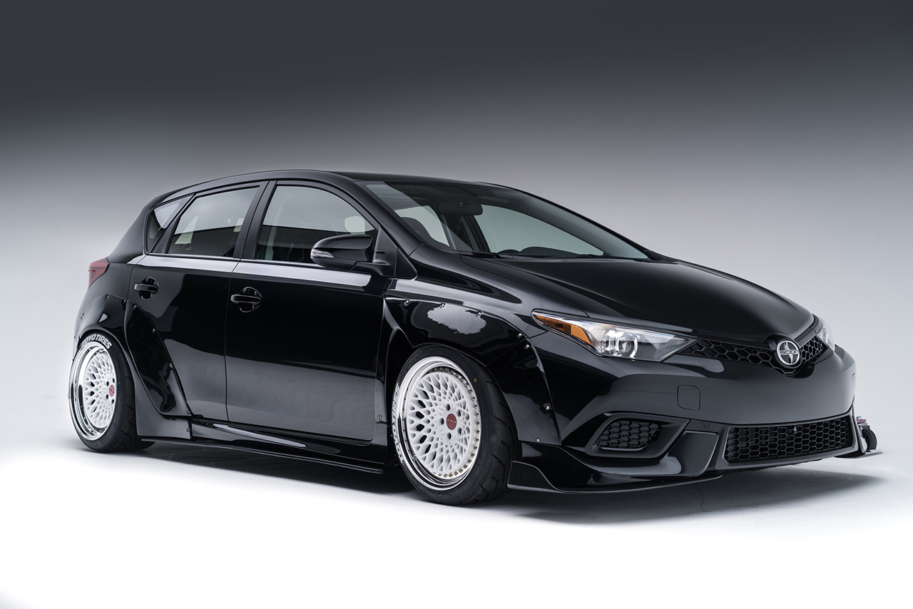 2015 SEMA - Scion iM Crooks & Castles Concept
