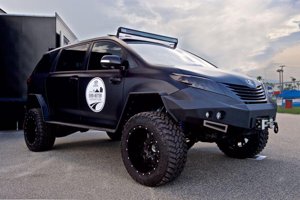 2015 SEMA - Toyota Sienna UVV Concept