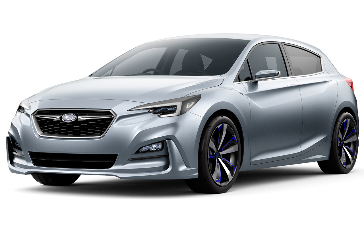 2015 Tokyo - Subaru Impreza 5-Door Concept