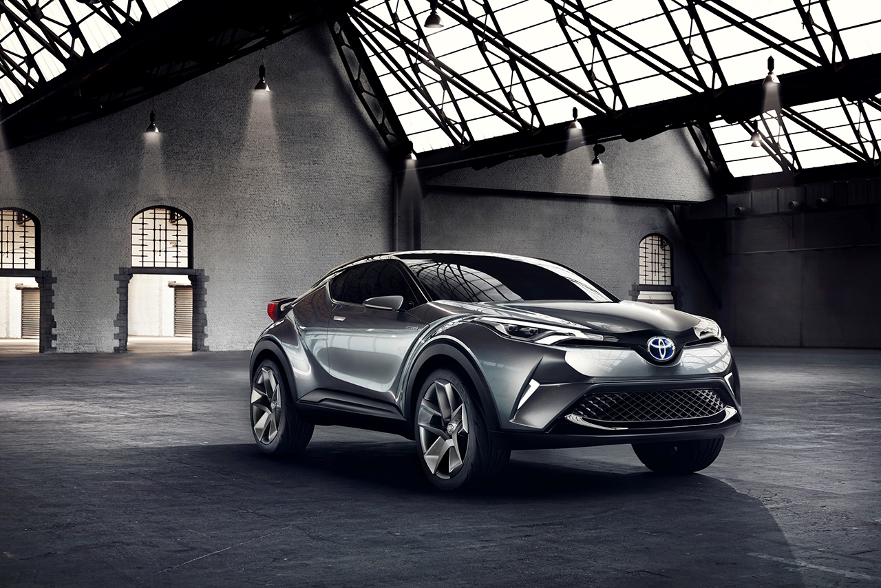 Toyota at 2015 Tokyo Motor Show - Toyota C-HR Concept